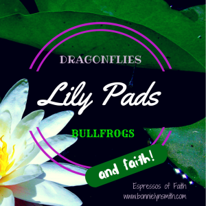 Dragonflies, Lily Pads, Bullfrogs, and Faith