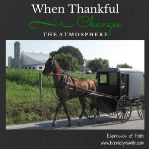 When Thankful Changes the Atmosphere