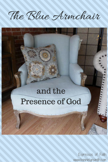 The Blue Airmchair and the Presence of God