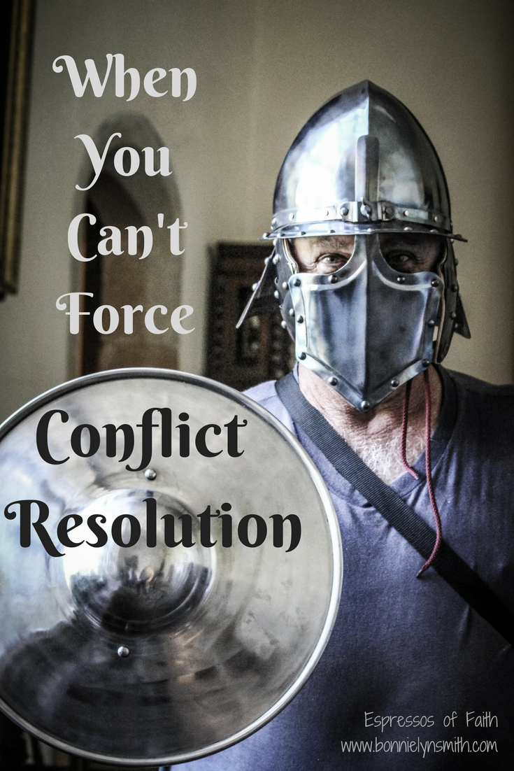 When You Can't Force Conflict Resolution
