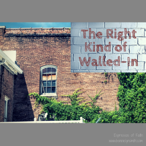 Right Kind of Walled-In